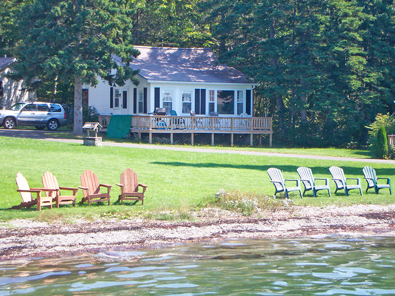 on vacation home rental maine town cottages cottage of house in camden megunticook asp lake the maitri property water